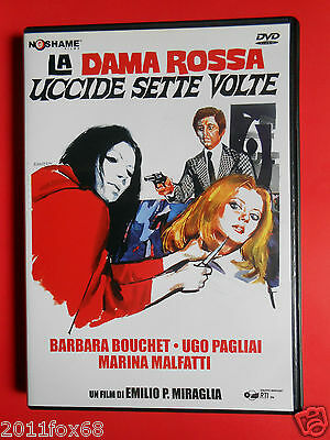 dvd film horror la dama rossa uccide sette volte barbara bouchet marina malfatti