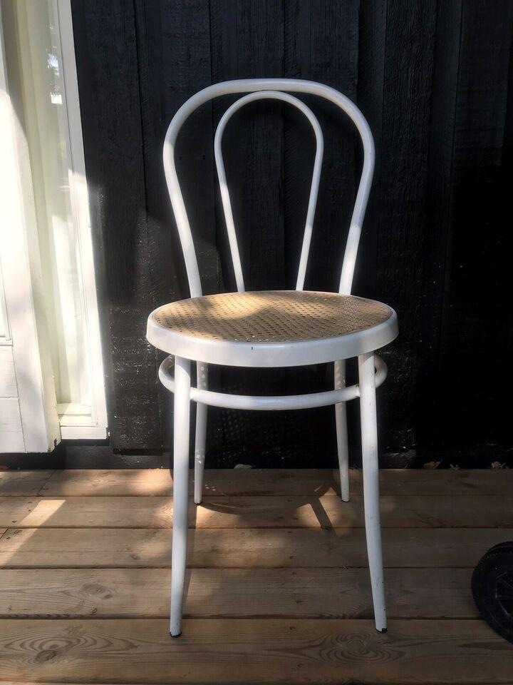 Spisebordsstol, Metal og fransk – dba.dk – Køb og Salg af