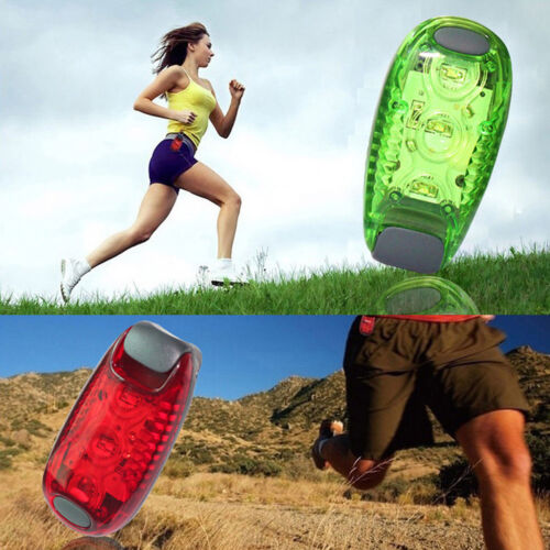 LED Light Clip on for Running Bike Rear Lamp Cycling Jogging Safety Warning New