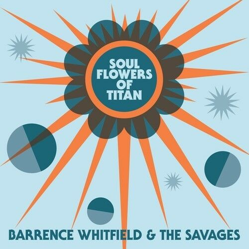 Barrence Whitfield & - Soul Flowers Of Titan [New CD] Digipack Packaging