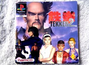 74372-Instruction-Booklet-Tekken-2-Sony-PS1-Playstation-1-1996-SCES-00255
