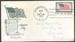 US-1094-4c-Old-Glory-48-Star-Flag-Issue-Artmaster-FDC-1957