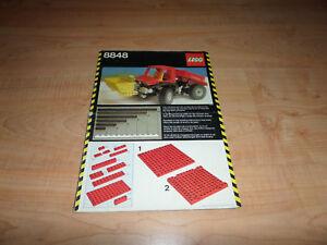 LEGO-technic-8848-Power-Truck-instructions-en-bon-etat