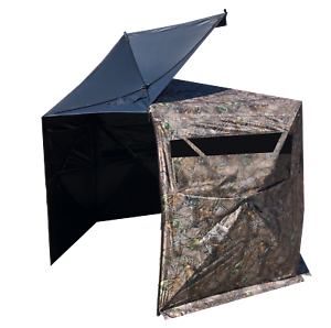4 PERSON HUNTING BLIND (HEXAGON SHAPED)