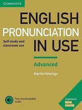 Inglés pronunciación en uso avanzado libro con respuestas y descargable..