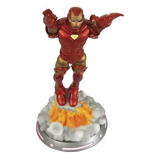 MARVEL SELECT IRON MAN Diamond Select Toys AVENGERS Extremis 7in action figure