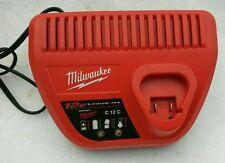 Used - Milwaukee M12 12Volt 48-11-2401 48-11-2402 Li-ion Charger 220V - US Plug