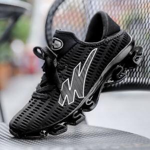 Men-Big-Size-Spring-Blade-Running-Sneaker-Light-Shock-Absorb-Sport-Outdoor-Shoes