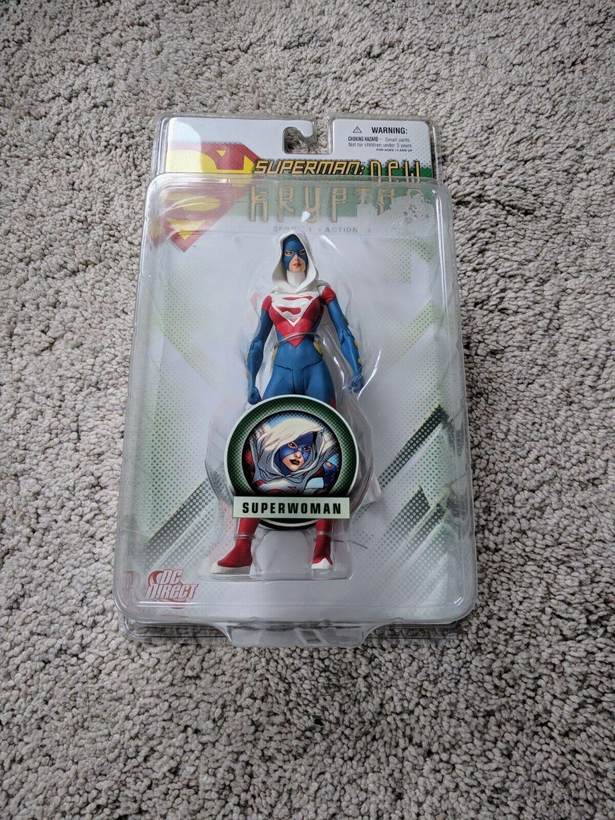 DC SUPERuomo  NUOVO Direct  Krypton SERIE 1  Superdonna azione cifra  100% di contro garanzia genuina