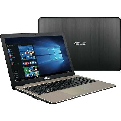 "NEW Asus F540SA-XX125T 15.6"" Intel Quad-Core Pentium 4GB 1TB Notebook"