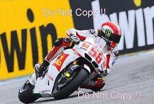 Marco Simoncelli San Carlo Honda Gresini Moto GP Portugal 2011 Photograph 2
