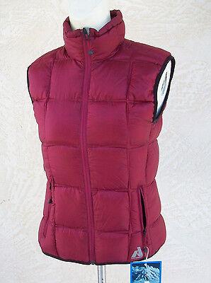 Eddie Bauer Women/'s First Ascent Downlight Vest Jacket NWT Berry Red