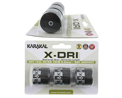 Karakal X-DRI Overgrip - Tennis - Badminton - Squash Grips DRI