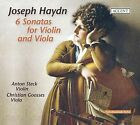 Haydn: 6 Sonatas for Violin and Viola (CD, Aug-2009, Accent)