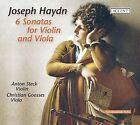 Haydn: 6 Sonatas for Violin and Viola (CD, Aug-2009, Accent)