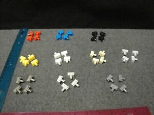 Lego Brick Modified 1 x 2 With Pin 2458 Choice of Colors!