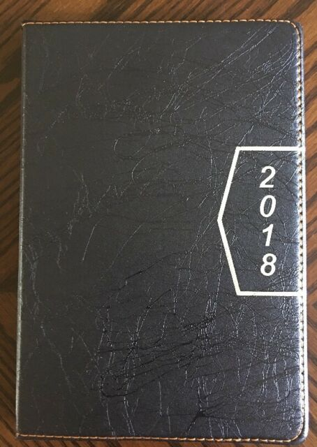 2018 calendar planner appointment book daily travel agenda notebook