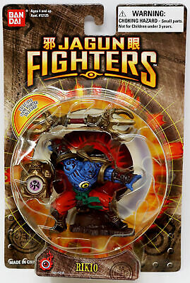 2003 Bandai Jagun Fighters ~ Rugi with Stone Fighter *Factory Sealed*