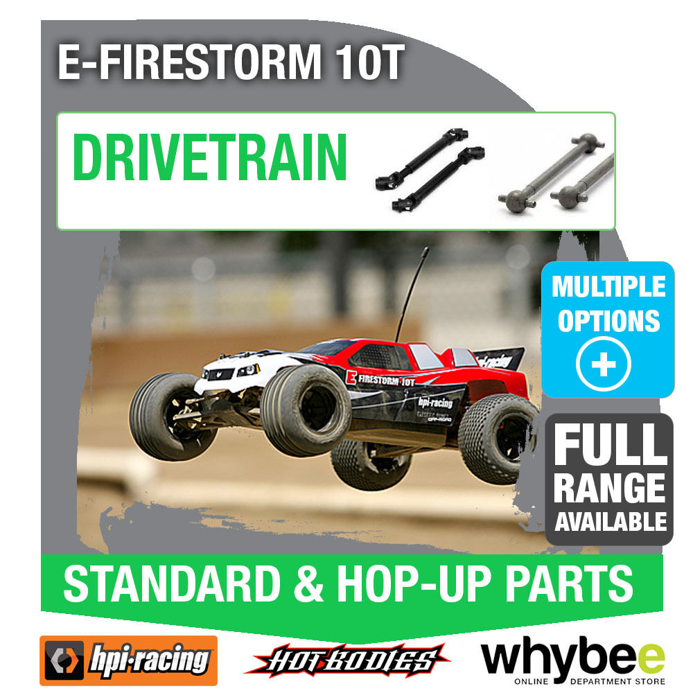 HPI E-FIRESTORM 10T [All Drvetrain Parts] Genuine HPi Racing R C Parts