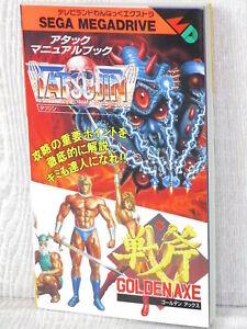 TATSUJIN-amp-GOLDEN-AXE-Guide-Mega-Drive-1989-Book-TI09