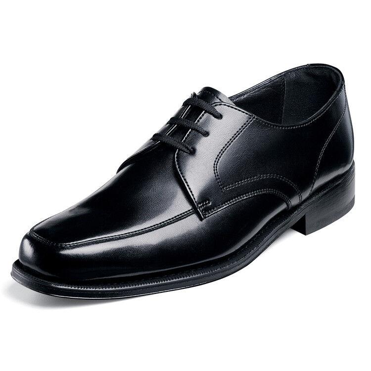 Florsheim Men's Richfield leather oxford Black shoes 17092-01