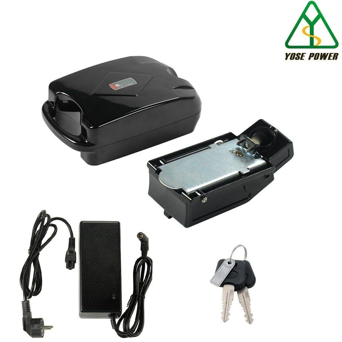 36V12.8Ah Ebike Batterie au Lithium LG Cell Forme de Grenouille avec Chargeur
