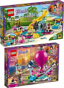 Intelligent Lego Friends 41374 41373 Andreas Piscine-fête Et Pieuvre-carrousel Réservations-ell Vorverkauf Fr-fr Afficher Le Titre D'origine