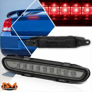 Brake Light for 06-10 Dodge Charger 3rd Black Housing Smoke Lens LED Rear Third