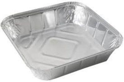 GSL 30 x No2 ALUMINIUM FOIL FOOD GRADE TAKEAWAY STORAGE CONTAINERS 30 LIDS
