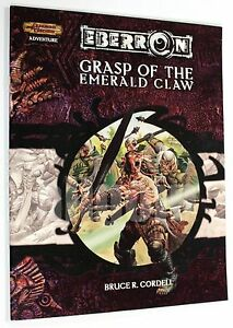 Dungeons & Dragons EBERRON GRASP OF THE EMERALD CLAW 2005 WOTC D&D 3.5 d20