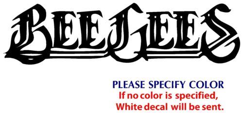 BEE GEES Metal Music Rock Band POP JDM Vinyl Sticker Decal Car Window Wall 12/""