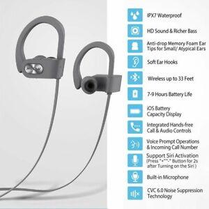6d3e5b73297 Image is loading Mpow-Bluetooth-Headphones-Waterproof-Earphone-Sport-Headset -Swimming-