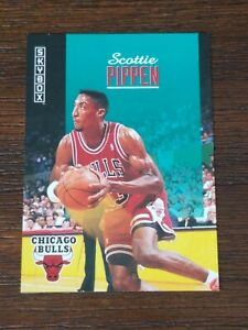 1992-93-SkyBox-35-Scottie-Pippen-NO-NUMBER-ON-BACK-Error-Promo-Rare-Can-039-t-find