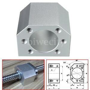 Aluminum-Ballscrew-Nut-Housing-Bracket-Holder-For-1604-1605-1610-51x39x39mm