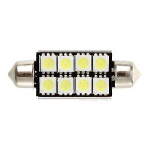 2-pcs-Canbus-Festoon-8-SMD-LED-211-C5W-Festoon-Lamp-43-mm-N5W3