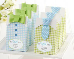 48 PERSONALIZED My Little Man Candy Bags Baby Shower Birthday Party Favor Bags