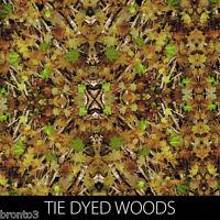 Tie Dyed Woods Camo Print Dip Stick Hydrographic Film