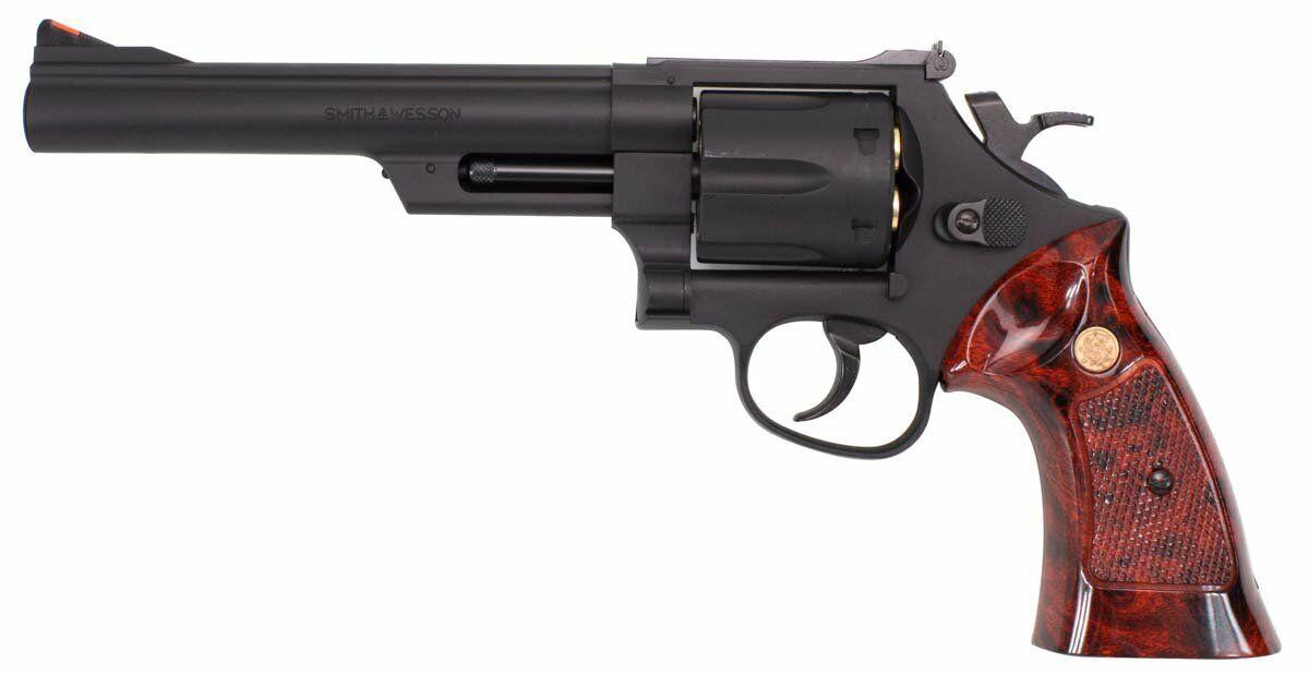 Crown Modelo Hop-up gas revólver S&W No.2 M29 6 pulgadas 18 años sobre Cañón de gas