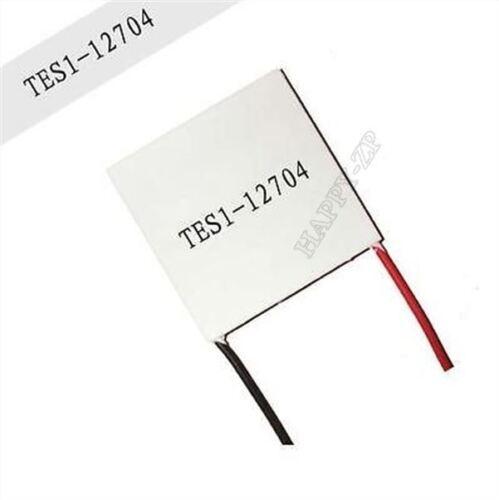 1Pcs 30MMX30MM Mince TES1-12704 12V Radiateur Tec Refroidisseur Thermoélectri tt