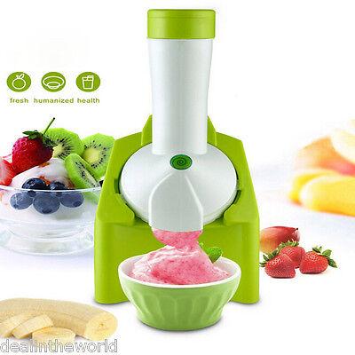 Electric Frozen Fruit Maker Ice Cream Blender Yogurt Sorbet Making Machine