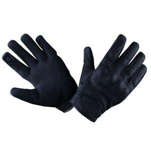 R-Tech-Street-Men-Guantes-de-Moto-cuero-Touchscreen-con-CE-aprobado-protecciones
