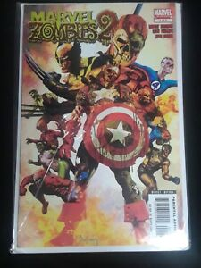 1-5 signed MARVEL ZOMBIES 2 HARD COVER ARTHUR SUYDAM 1st print CAPTAIN AMERICA