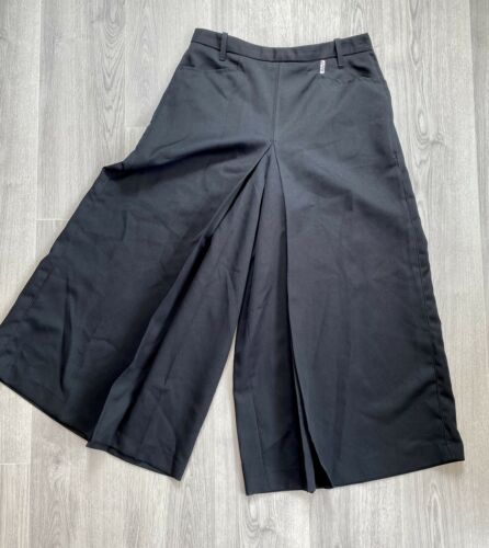 Jupe Culotte Black French Pant Skirt Gaucho Riding