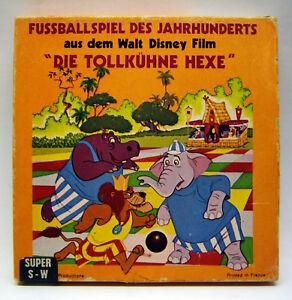 Castle-Super-8-Disney-Film-S-W-stumm-45-m-Fussballspiel-des-Jahrhunderts