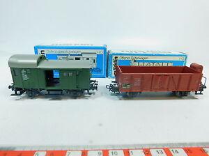 AW903-0-5-2x-Maerklin-Marklin-H0-AC-Gepaeckwagen-Gueterwagen-DB-4699-4601-OVP