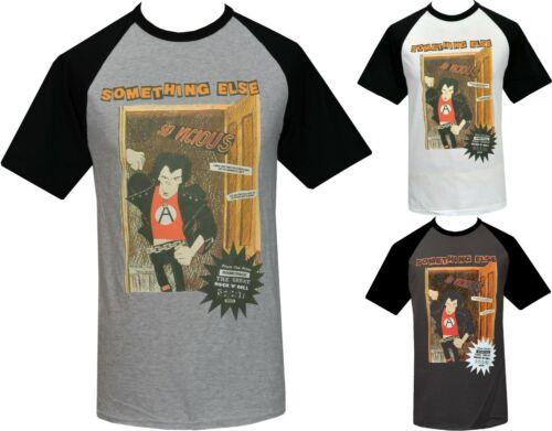 Mens PUNK Raglan T-Shirt Seditionaries 1977 Sid Vicious Something Else Anarchy