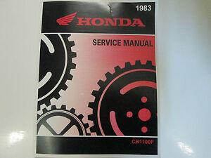 1983 honda cb1100f cb 1100 f cb 1100f bike service shop repair rh ebay com 1983 CB1100F New Honda CB1100