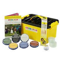SNAZAROO Face Paints - Mini Starter Kit  - Paints 300 Faces!