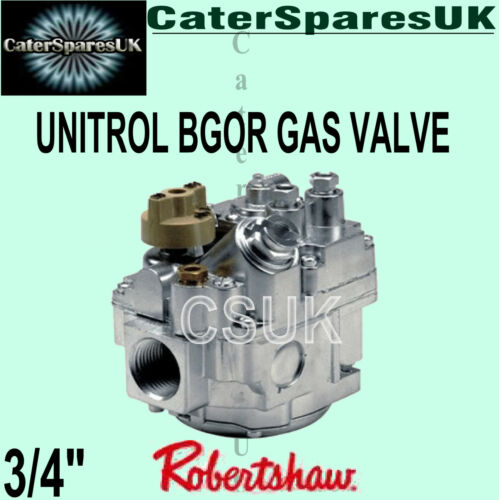 """BGOR ROBERT SHAW NAT GAS VALVE 7000 BGOR FOR CATERING GAS FRYER NEXT DAY 3//4/"""""""