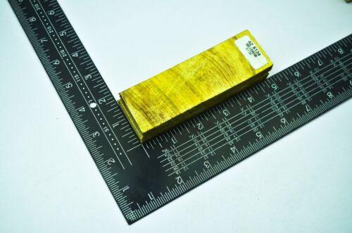 """AZ-6134 à 6143 Paire Couteau Scales Poignée Blanc FIGURED exotique en bois d/'olivier 5/"""""""